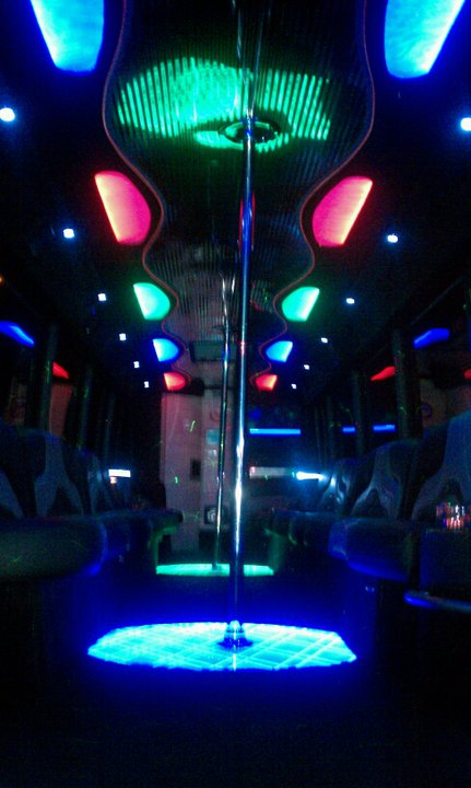 Party Limo Coach Buses